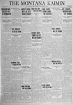 The Montana Kaimin, March 6, 1925