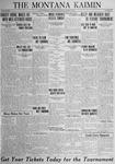 The Montana Kaimin, March 10, 1925