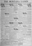The Montana Kaimin, March 20, 1925