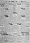 The Montana Kaimin, April 3, 1925