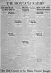 The Montana Kaimin, April 21, 1925