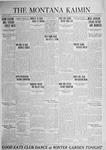 The Montana Kaimin, April 24, 1925