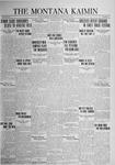 The Montana Kaimin, May 5, 1925