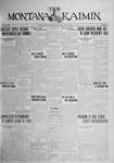 The Montana Kaimin, May 19, 1925