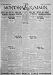 The Montana Kaimin, May 22, 1925
