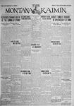 The Montana Kaimin, May 29, 1925
