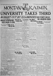 The Montana Kaimin, June 2, 1925