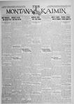 The Montana Kaimin, June 5, 1925