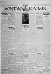 The Montana Kaimin, June 9, 1925