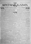 The Montana Kaimin, June 16, 1925