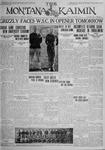 The Montana Kaimin, October 2, 1925
