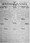 The Montana Kaimin, October 6, 1925