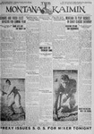 The Montana Kaimin, October 9, 1925