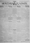 The Montana Kaimin, October 13, 1925