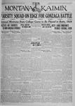 The Montana Kaimin, October 16, 1925