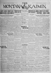 The Montana Kaimin, October 27, 1925