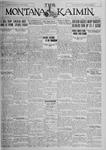 The Montana Kaimin, November 3, 1925