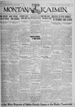 The Montana Kaimin, November 6, 1925
