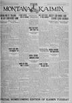 The Montana Kaimin, November 13, 1925