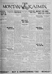 The Montana Kaimin, November 20, 1925