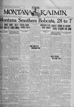 The Montana Kaimin, November 27, 1925
