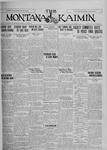 The Montana Kaimin, December 4, 1925