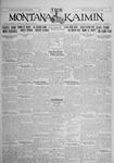 The Montana Kaimin, January 12, 1926