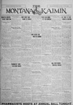 The Montana Kaimin, January 15, 1926