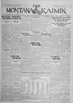 The Montana Kaimin, January 22, 1926