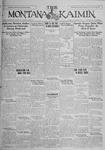 The Montana Kaimin, January 26, 1926