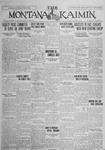The Montana Kaimin, January 29, 1926