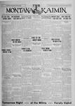 The Montana Kaimin, March 5, 1926