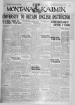 The Montana Kaimin, April 9, 1926