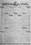 The Montana Kaimin, April 16, 1926