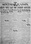 The Montana Kaimin, April 30, 1926