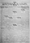 The Montana Kaimin, May 4, 1926