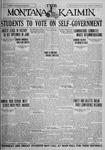 The Montana Kaimin, May 18, 1926