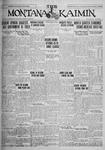 The Montana Kaimin, May 25, 1926