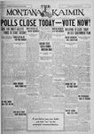 The Montana Kaimin, May 28, 1926