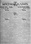 The Montana Kaimin, June 8, 1926
