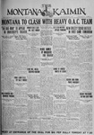 The Montana Kaimin, October 1, 1926
