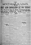 The Montana Kaimin, October 15, 1926