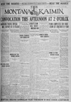 The Montana Kaimin, October 19, 1926