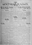 The Montana Kaimin, November 2, 1926