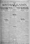 The Montana Kaimin, November 9, 1926