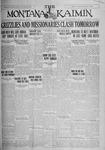 The Montana Kaimin, November 12, 1926