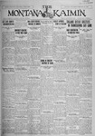 The Montana Kaimin, November 30, 1926