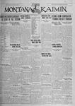 The Montana Kaimin, January 14, 1927