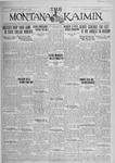 The Montana Kaimin, January 25, 1927