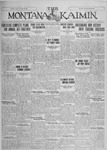 The Montana Kaimin, January 28, 1927